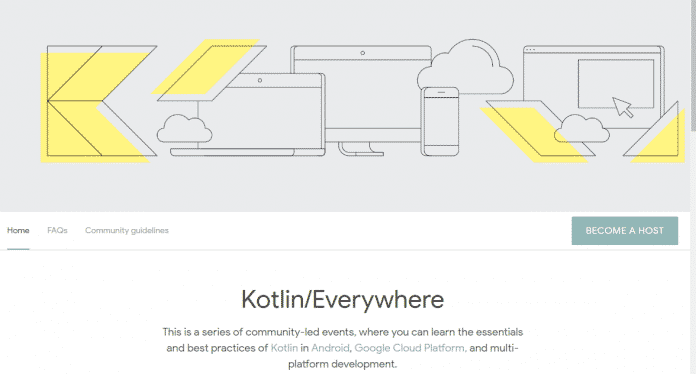 Kotlin/Everywhere heißt das von Google und JetBrains initiierte Programm mit Community-Events.