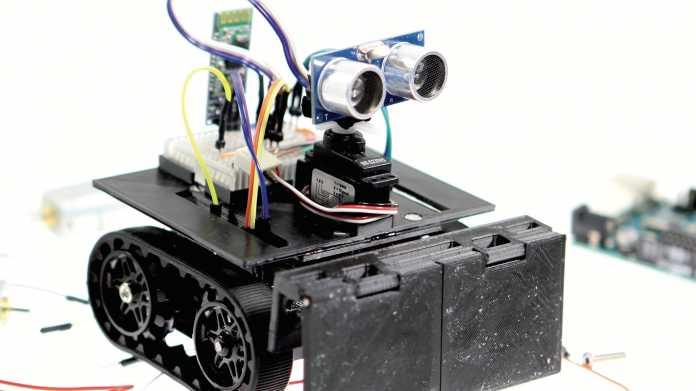 Arduino findet durch Labyrinth
