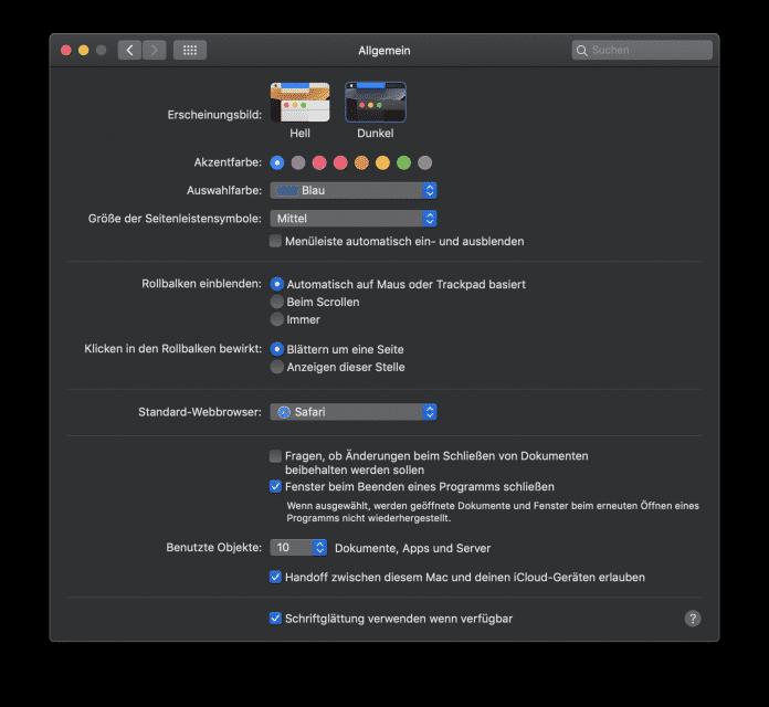 Wer den Dark Mode in macOS nutzt, soll möglichst keine blendend weißen Webseiten mehr zu sehen bekommen.