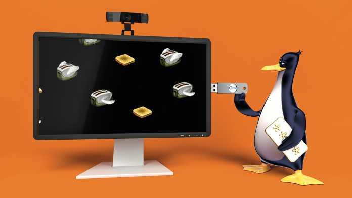 Linux mit komfortabler Bildschirmsperre