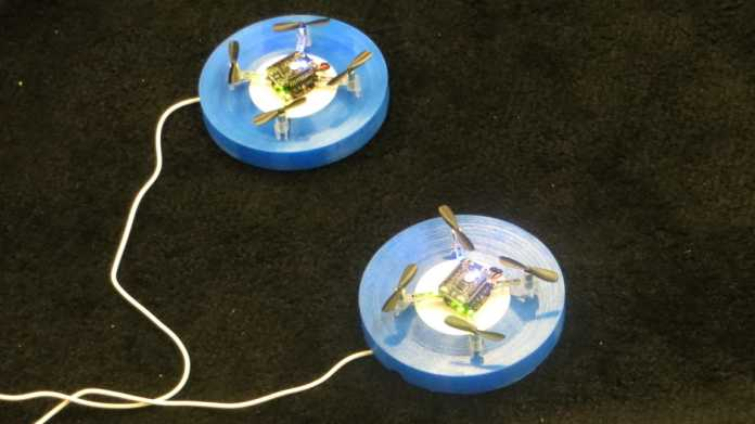 """Robotik-Konferenz ICRA: Flugrobotern fehlt das """"Fett"""""""
