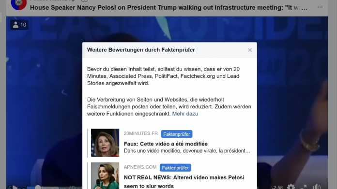 Manipulierte Videos: Neue Debatte über Verantwortung von Facebook & Co.