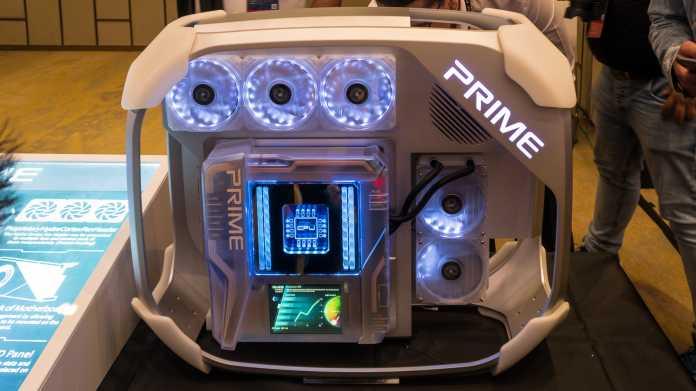 Asus Prime Utopia: Modulares Mainboard zum Firmenjubiläum