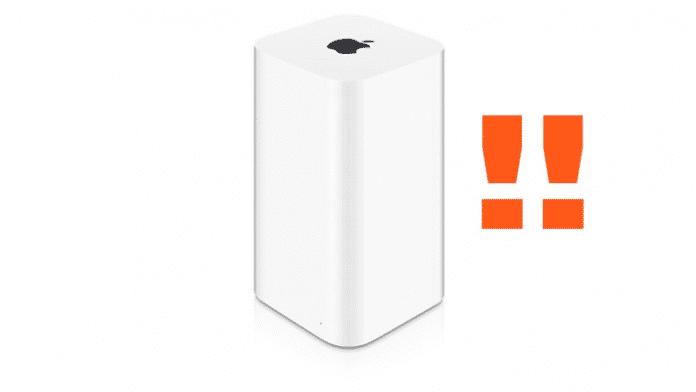 Problematische Sicherheitslücken: Apple aktualisiert alte AirPort-Basisstationen