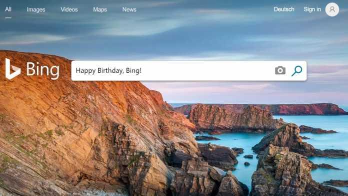 """Happy Birthday, Bing: Microsofts """"Entscheidungsmaschine"""" wird 10"""