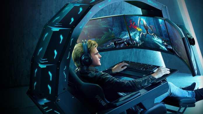Acer Thronos: High-Tech-Gamingsessel kostet 18.000 Euro