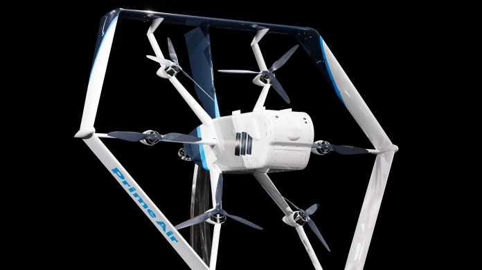 Prime Air: Amazon will in wenigen Monaten per Drohne ausliefern