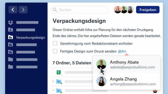 Mehr als nur Cloud-Speicher: Dropbox wird zum integrierten Arbeitsplatz