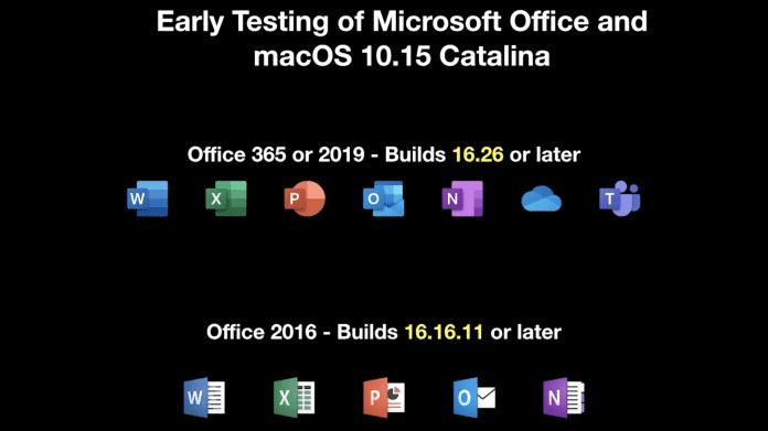 Office auf dem Mac: macOS Catalina bringt Änderungen