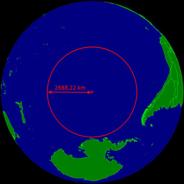 Point Nemo: Einer der isoliertesten Orte auf der Erde und beliebtes Ausflugsziel für ausrangierte Raumstationen.