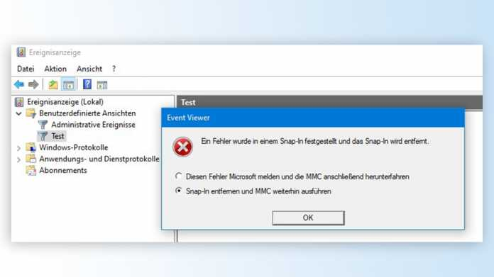 Juni-Sicherheitsupdates sabotieren Ereignisanzeige in allen Windows-Versionen
