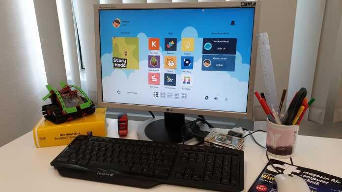 Kano OS auf dem Raspi: Linux-Betriebssystem für Kinder und Programmieranfänger