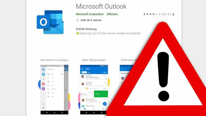 Microsoft schließt Schwachstelle in Outlook-App für Android