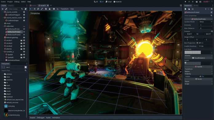 Einstieg in die Spieleprogrammierung mit der Game-Engine Godot