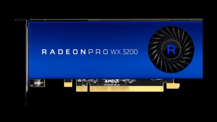 AMD Radeon Pro WX 3200: Profi-Grafikkarte ohne Stromanschluss