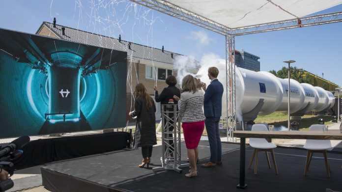 Hyperloop in Europa: Hardt stellt erstes funktionierendes original-großes Teilstück fertig