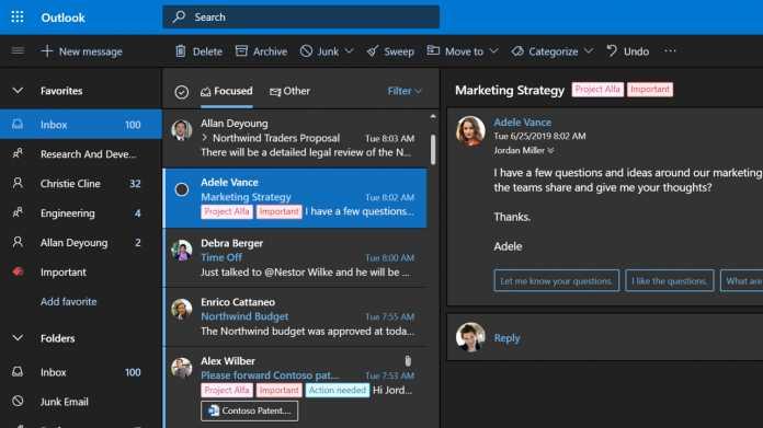 Microsoft: Das neue Outlook fürs Web ist fertig