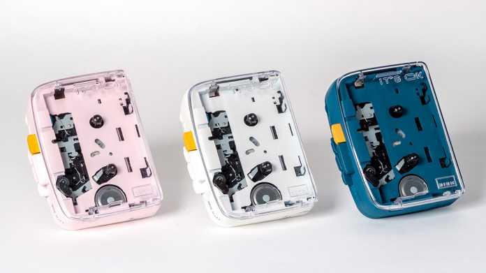 Tragbarer Kassettenspieler mit Bluetooth