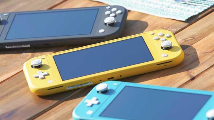 Switch Lite: Nintendo bringt neue Handheld-Konsole auf den Markt