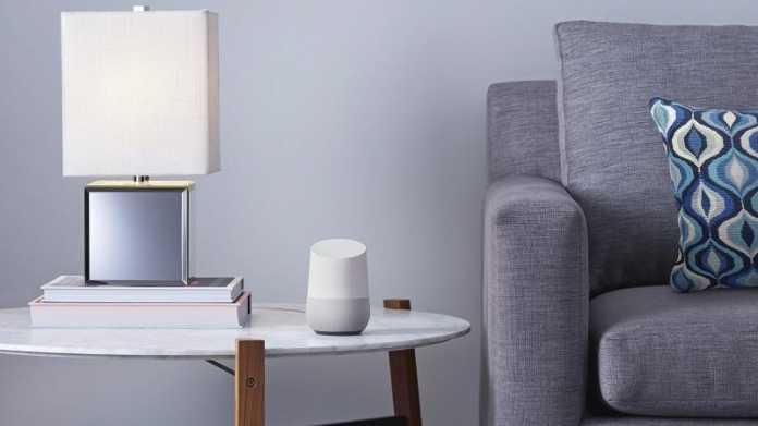 Google Lautsprecher Home