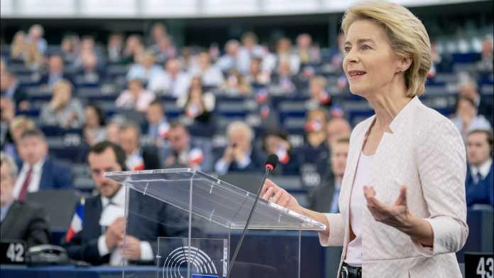 Klima- und KI-Gesetz bis Herbst: von der Leyen sieht große Aufgaben als EU-Kommissionspräsidentin