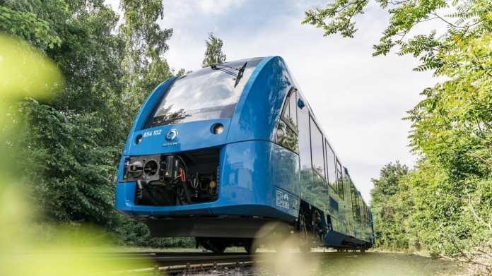 Wasserstoffzüge im Einsatz: Positive Bilanz nach 100.000 Kilometern