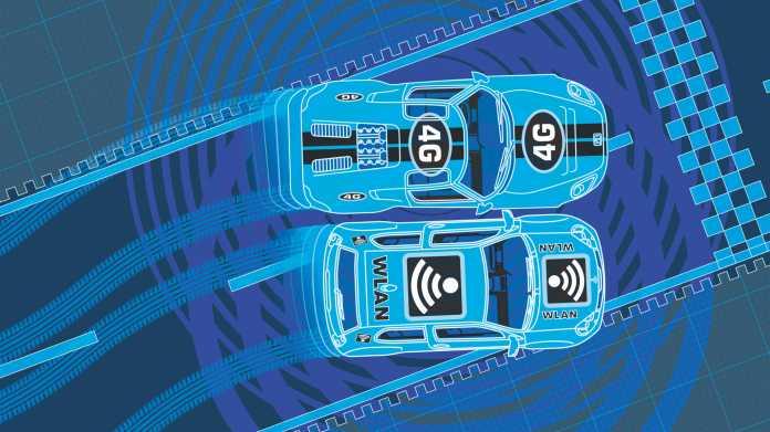 Autovernetzung: 802.11p gegen C-V2X