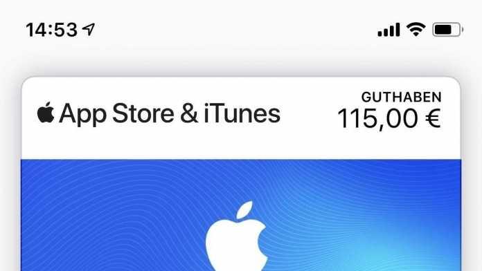 App-Store-Guthaben