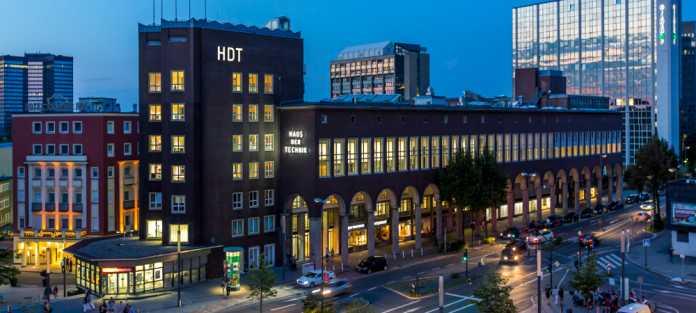 Das Haus der Technik in Essen gehört zu den bedeutenden Wissensstandorten im Ruhrgebiet.