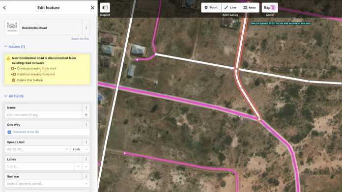 Map With AI: Facebook unterstützt OpenStreetMap-Community