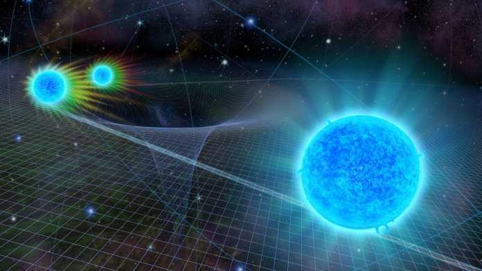 Rasender Stern am Schwarzen Loch: Einstein besteht weiteren Test
