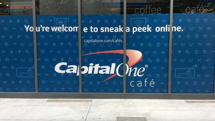 """You're welcome to sneek a peek online - Capital One Café"""