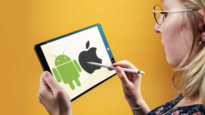 Tablets digitale Mal- und Notizblöcke nutzen