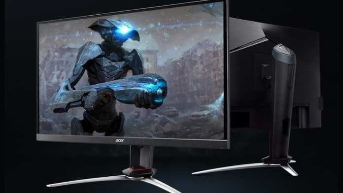 Acer Nitro XV273X: Erster IPS-Monitor mit 240 Hertz und 1 ms Reaktionszeit
