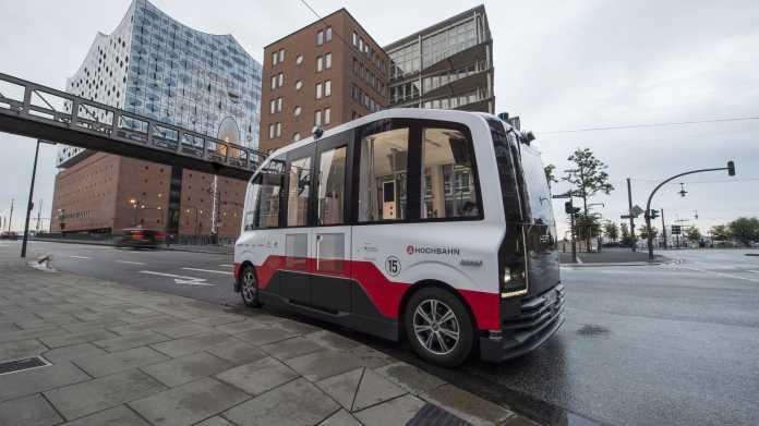 Hamburg: Probebetrieb autonomer E-Busse startet im normalen Straßenverkehr