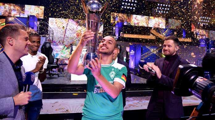 """Deutscher E-Sportler """"MoAuba"""" ist FIFA-Weltmeister"""