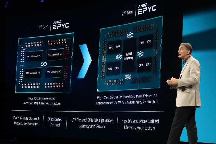 AMD Technikchef Papermaster erklärt die Unterschiede zwischen Zen 1 und Zen 2