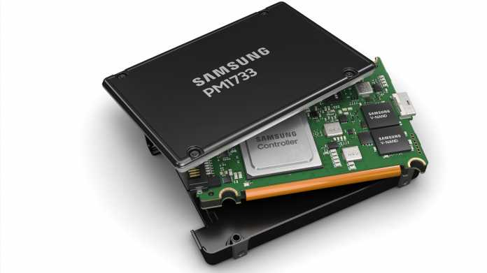 Samsung PM1733: Die schnellste PCIe-4.0-SSD kommt für Server