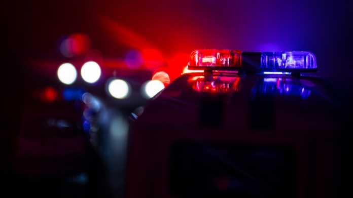 Polizei, USA, Blaulicht