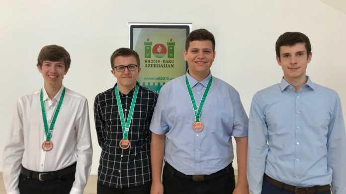 Medaillen für den Informatik-Nachwuchs