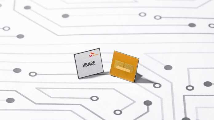 Grafikspeicher: SK Hynix kündigt schnellsten HBM2E-RAM an
