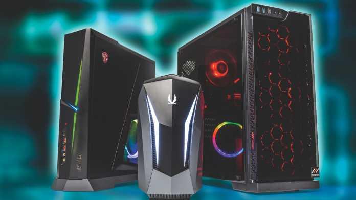 Leistungsstarke Gaming-PCs mit GeForce RTX und Radeon 5700 XT