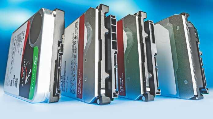 Festplatten für Desktop und NAS von 12 bis 16 TByte
