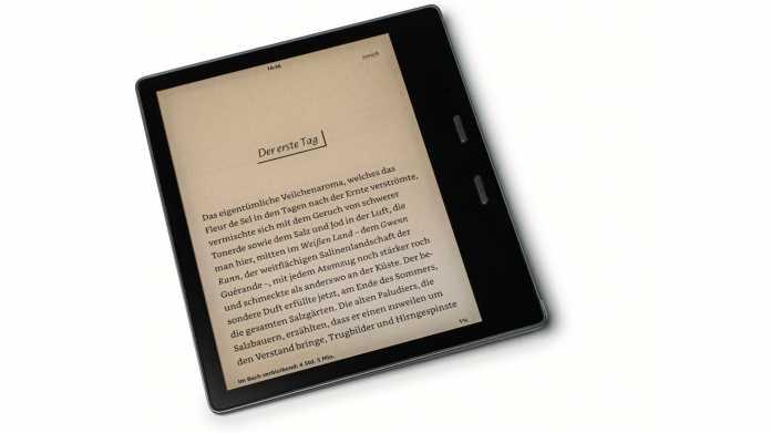 Amazon Kindle Oasis mit Farbanpassung