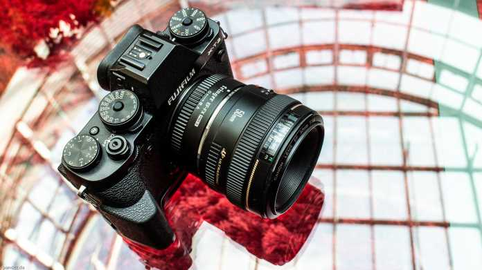 Canon EF-Objektive an Fujifilm-X-Kameras