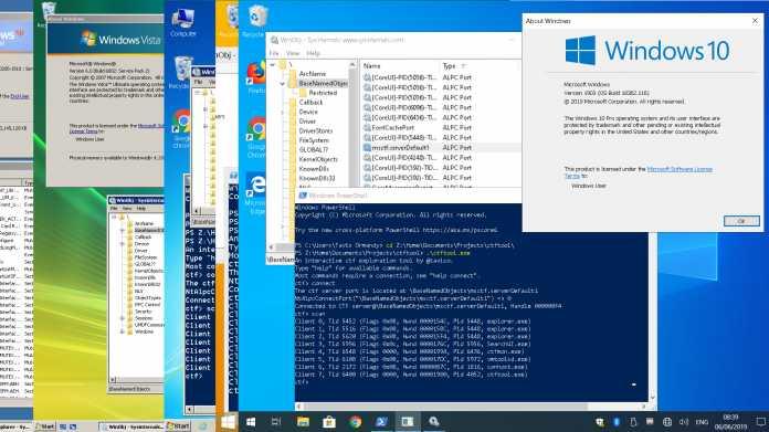 Horror aus der Windows-Steinzeit: Über die bordeigene Texteingabe-Hilfe zum Admin
