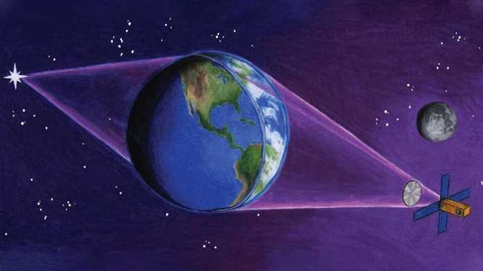 Die Erde als Riesenlinse