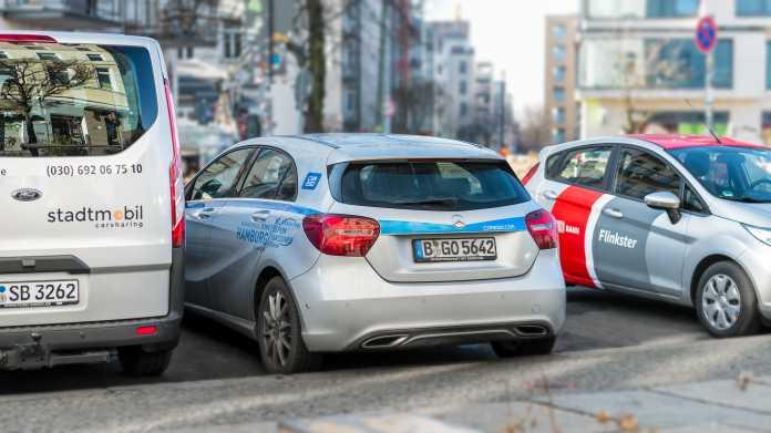 """Verband kritisiert Studie zum """"Mythos Carsharing"""""""