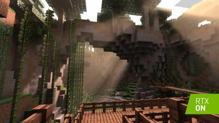 Minecraft: Das meistverkaufte 3D-Spiel erhält Raytracing-Support von Nvidia