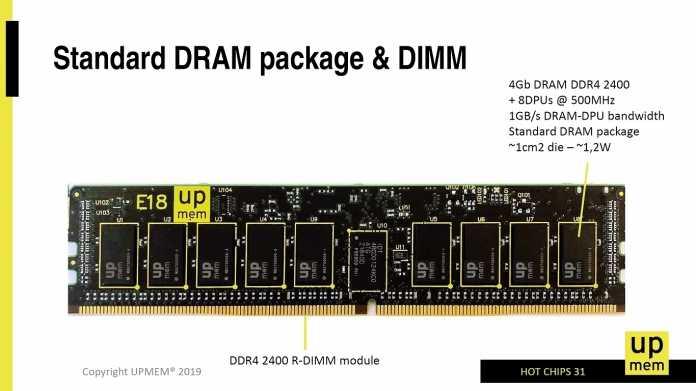 Upmem: DDR4-Speicherriegel mit integrierten Prozessoren